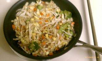 Left Over Stir Fry