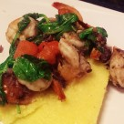 Mediterranean Shrimp and Polenta