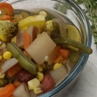 Fully Loaded Vegetable Soup