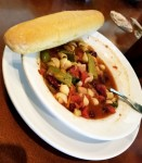 Olive Garden Minestrone Soup with Garlic Bread