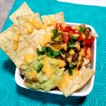 Loaded Nachos with Vegan Cheese Sauce